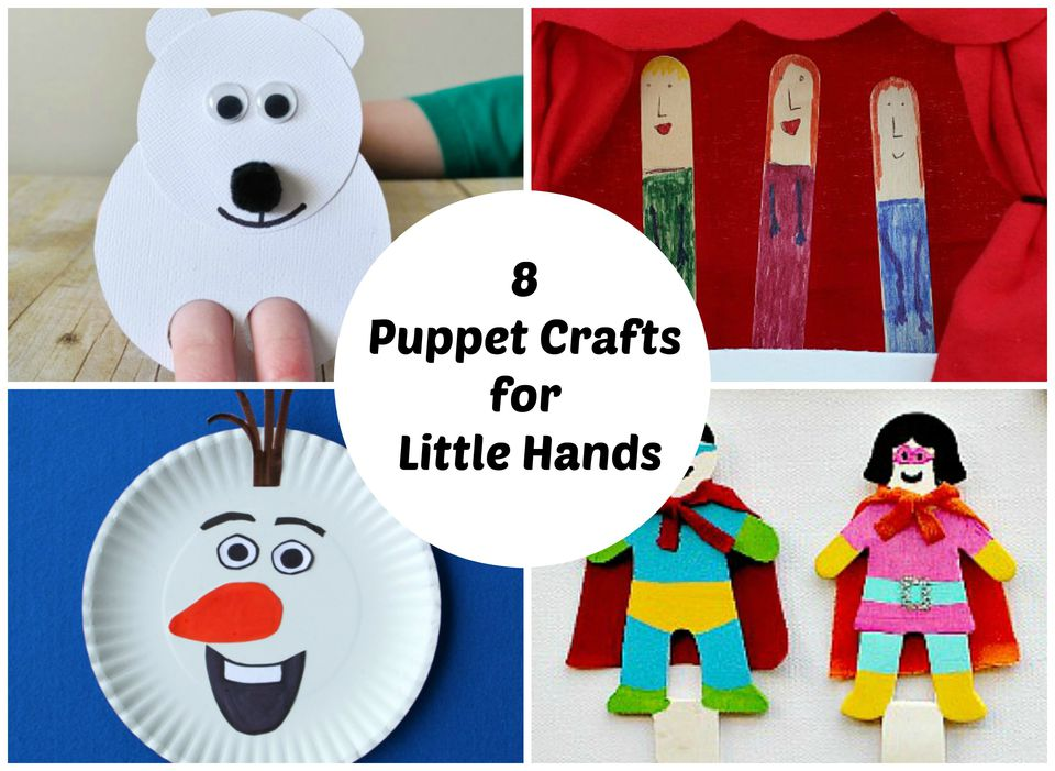 8 Puppet Crafts for Little Hands