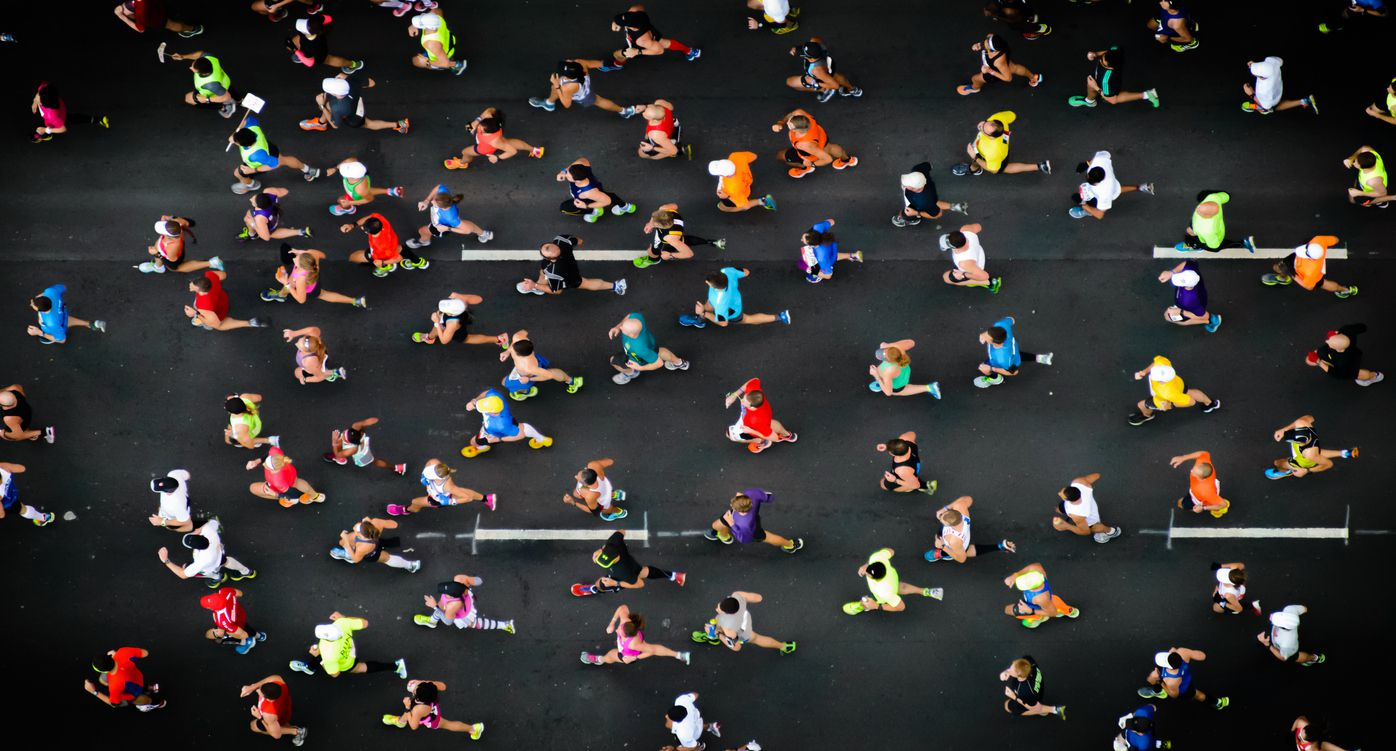 Running - Magazine cover