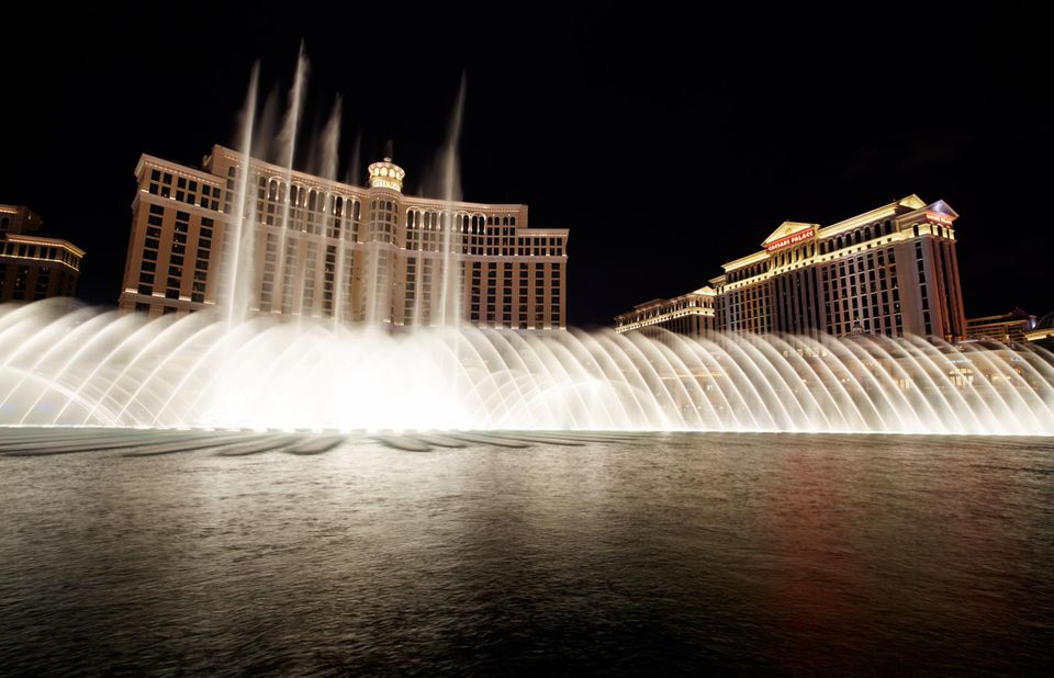 Fountains of Bellagio. The Strip, Las Vegas