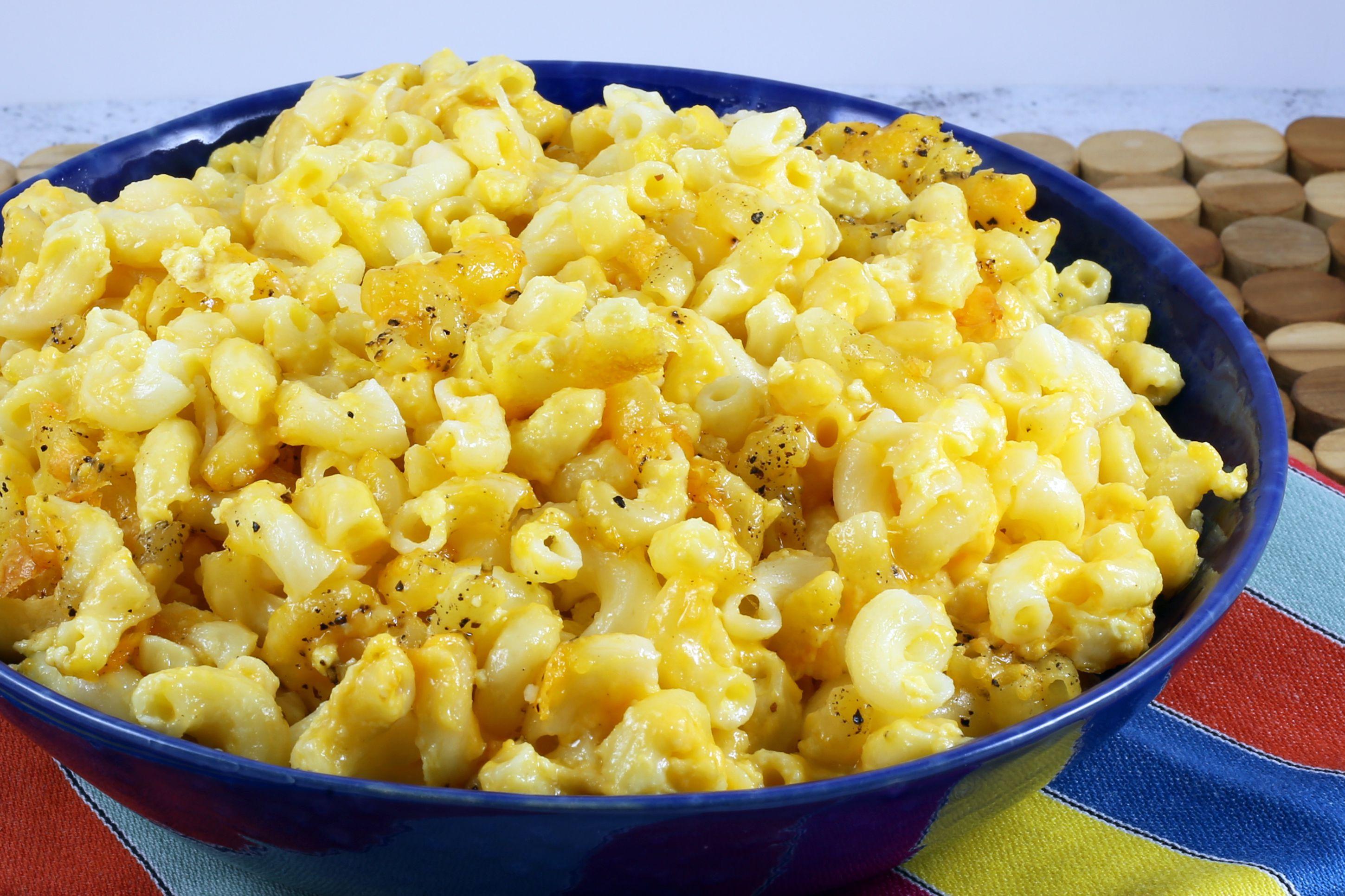 Macaroni And Cheese Casserole Recipe No Sauce