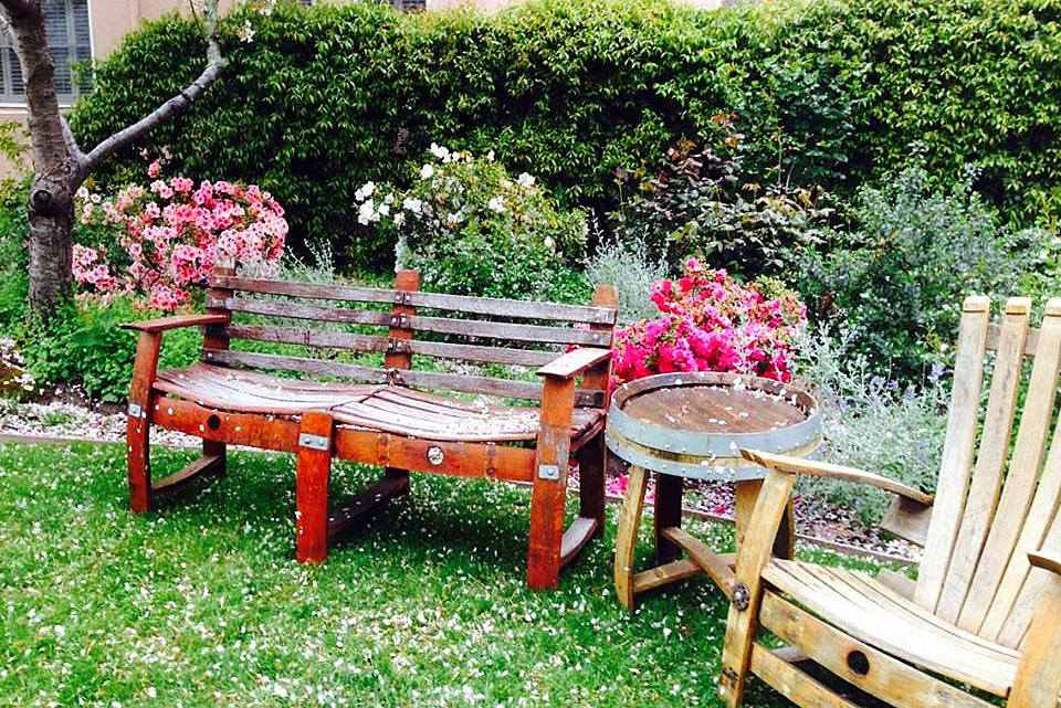 pallet pallets bench ideas garden pin benches decent