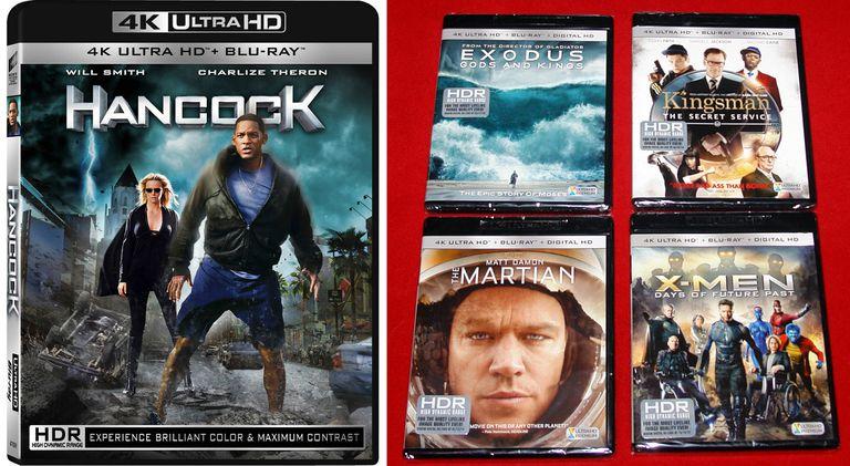 Sony and Fox Ultra HD Blu-ray Disc Covers