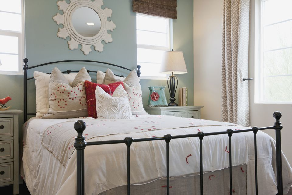 Adorable Shabby Chic bedroom.