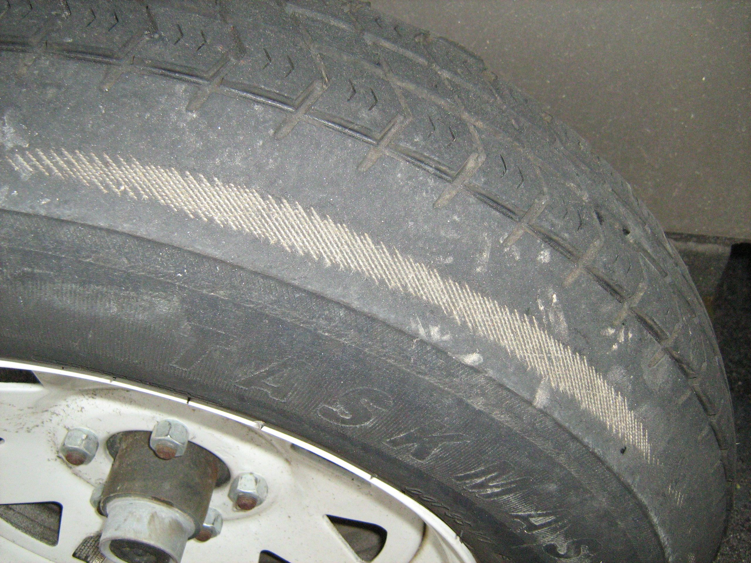 How to Drive Through a Tire Blowout