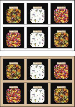 Easy Bug Jar Quilt Block Pattern : bugs in a jar quilt pattern - Adamdwight.com