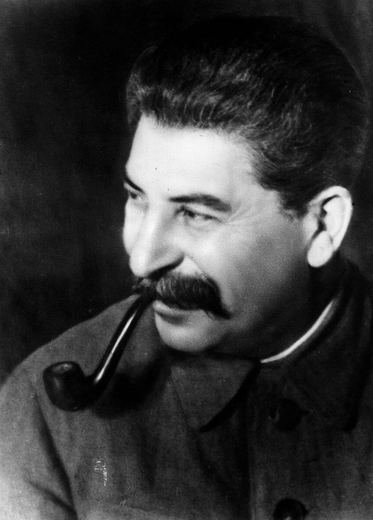 Picture of Soviet dictator Joseph Stalin.