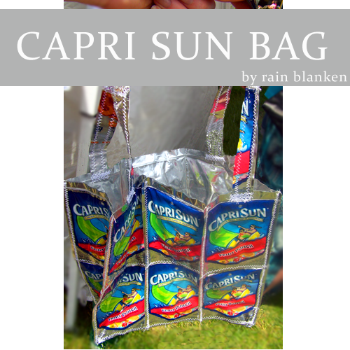 Make a Capri Sun Bag