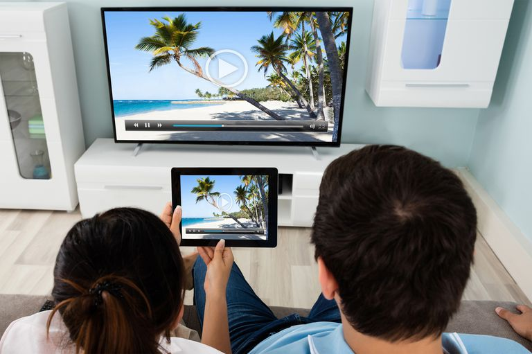 Example of Miracast/Screen Mirroring