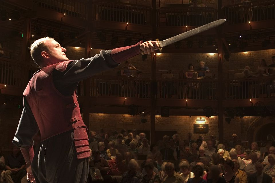 Royal Shakespeare Company performance, Stratford-upon-Avon, Warwickshire, England.