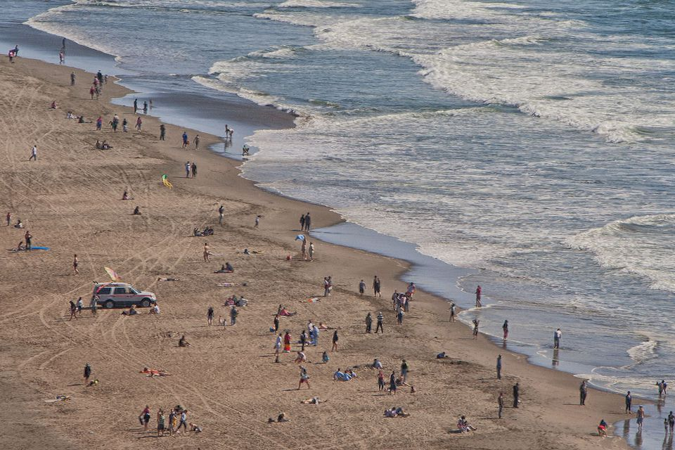 A Great Day on Ocean Beach