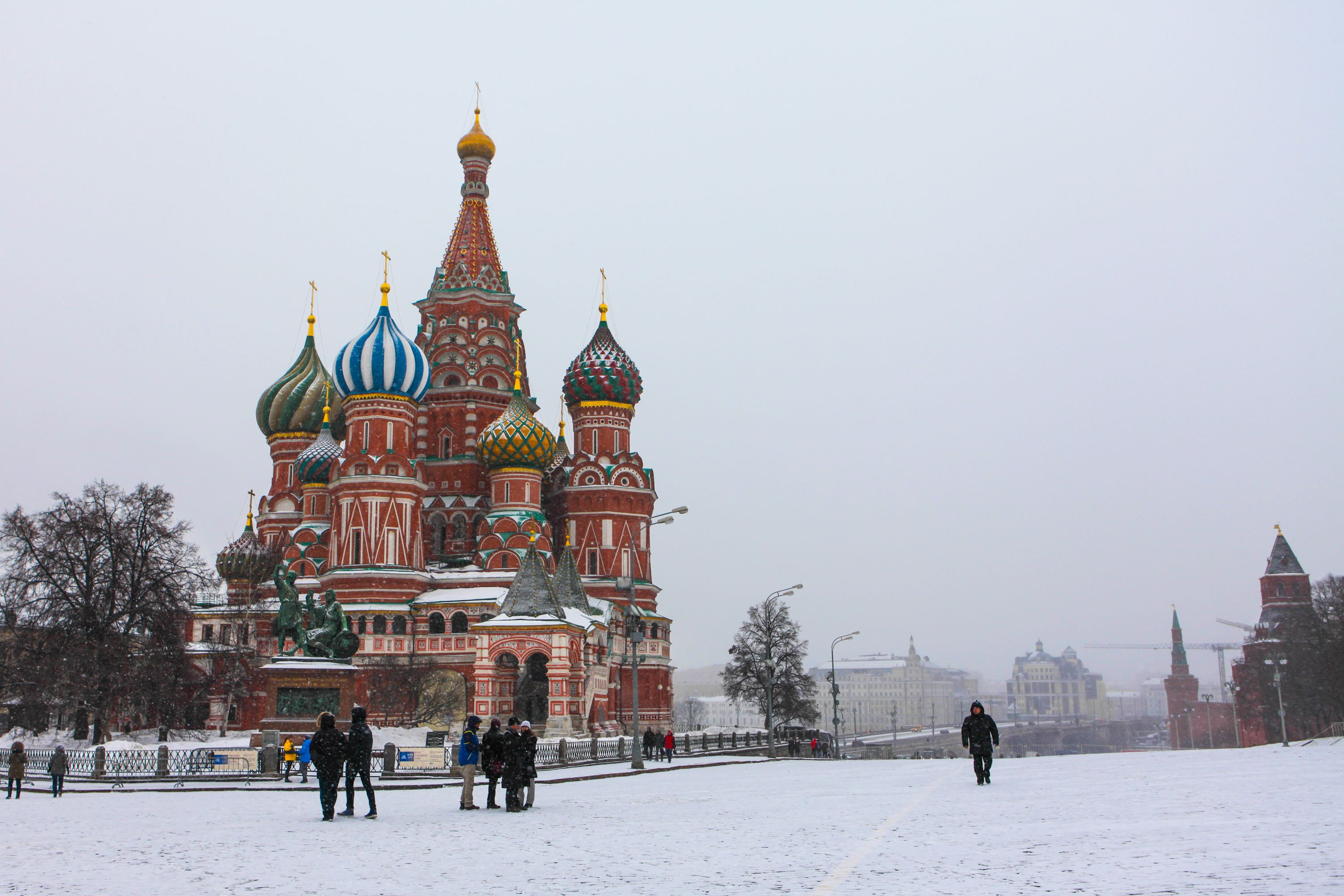 Moscow in Winter - December, January, February Travel