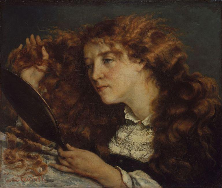 Jo, la belle Irlandaise, de Gustave Courbet