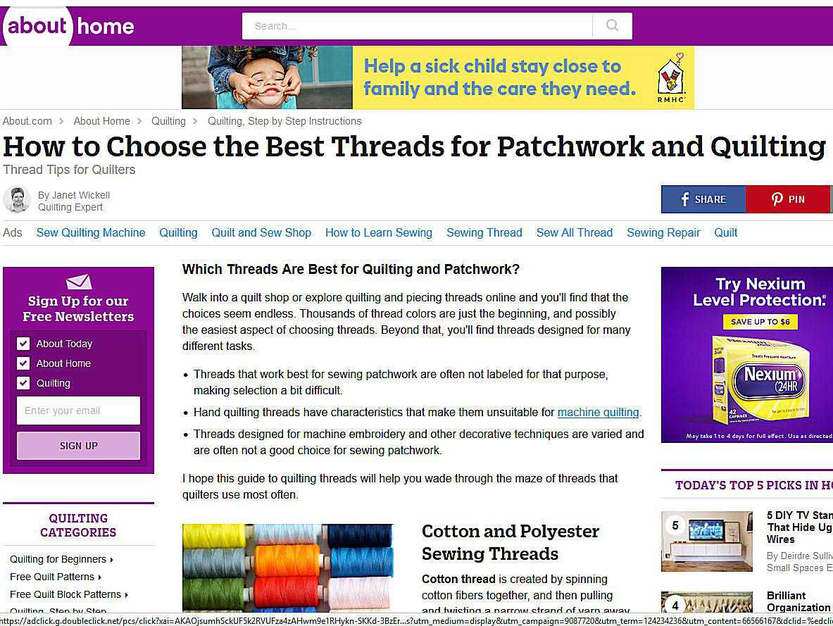 Sewing thread information central geenschuldenfo Image collections