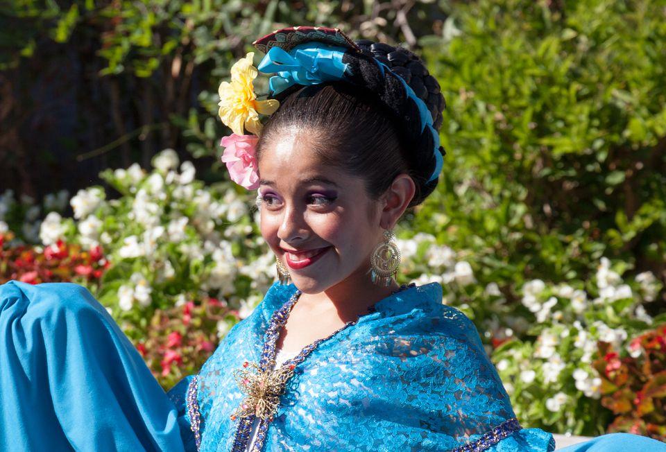 Mexican Folklorico Dancer
