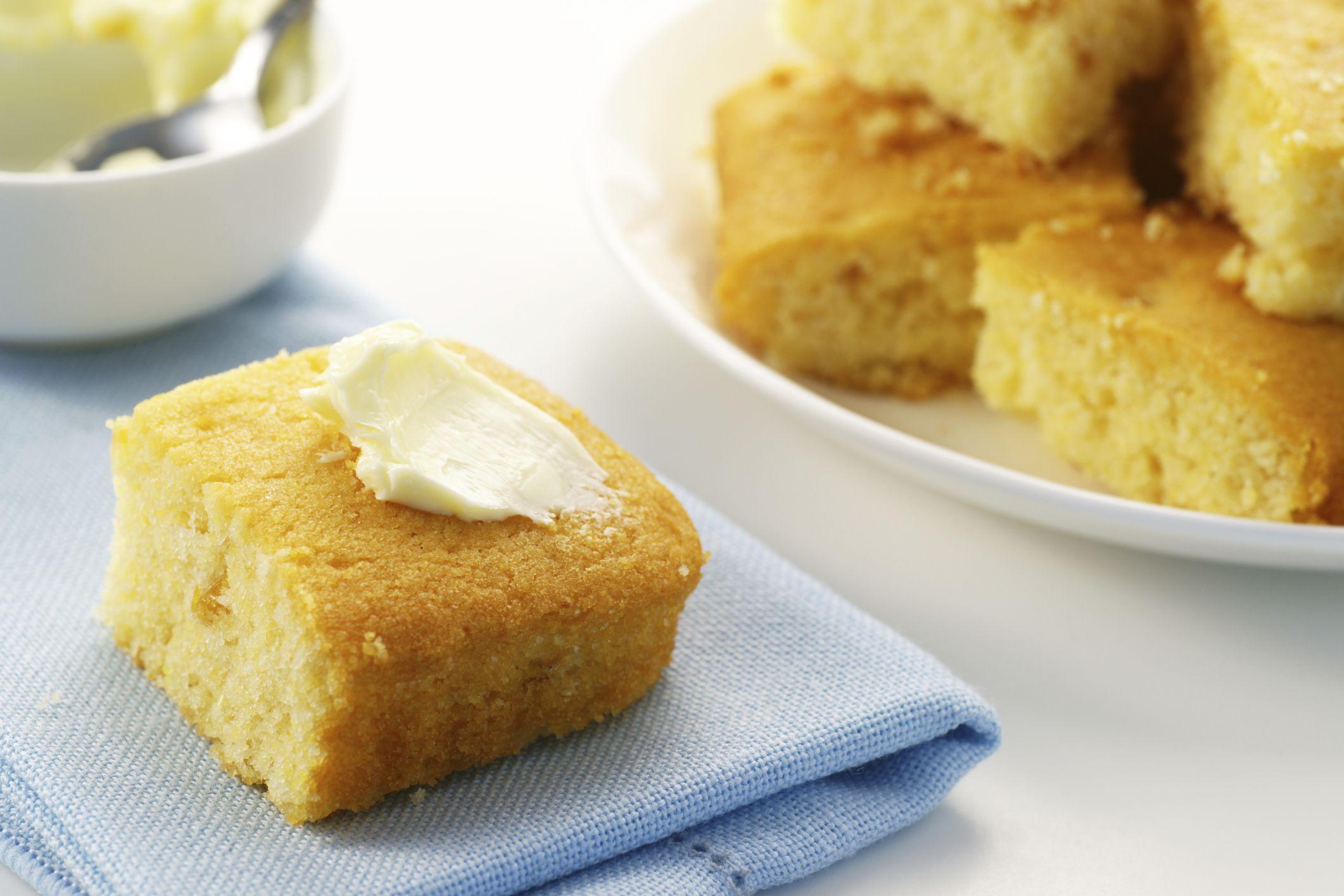 Sweet & Golden Gluten-Free Cornbread