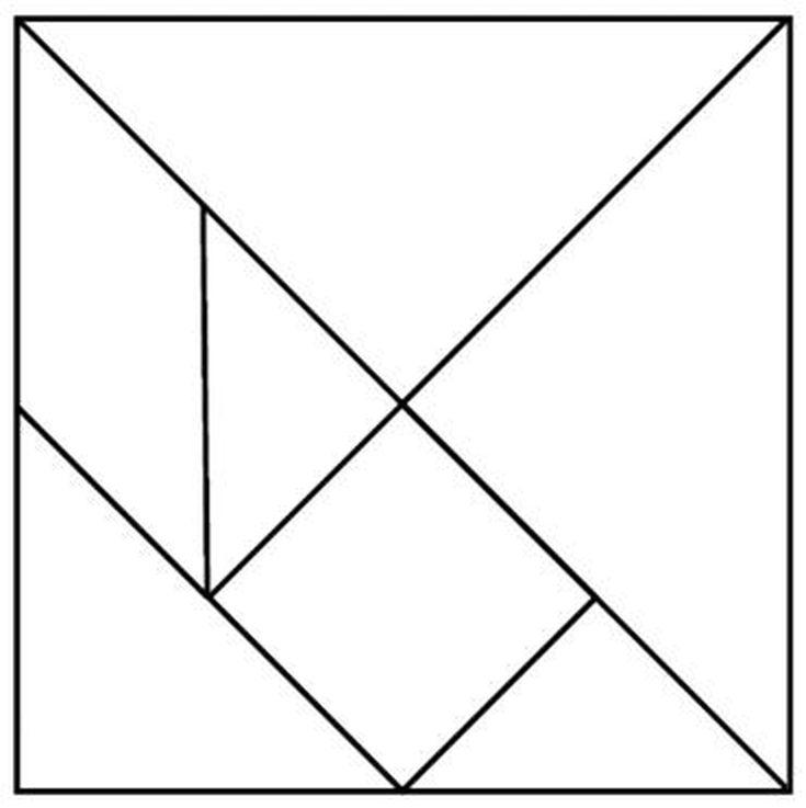 {Use the Free Tangram Template Pattern in PDF – Tangram Worksheet