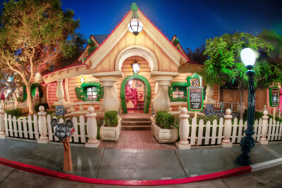 Mickey's House in Toontown