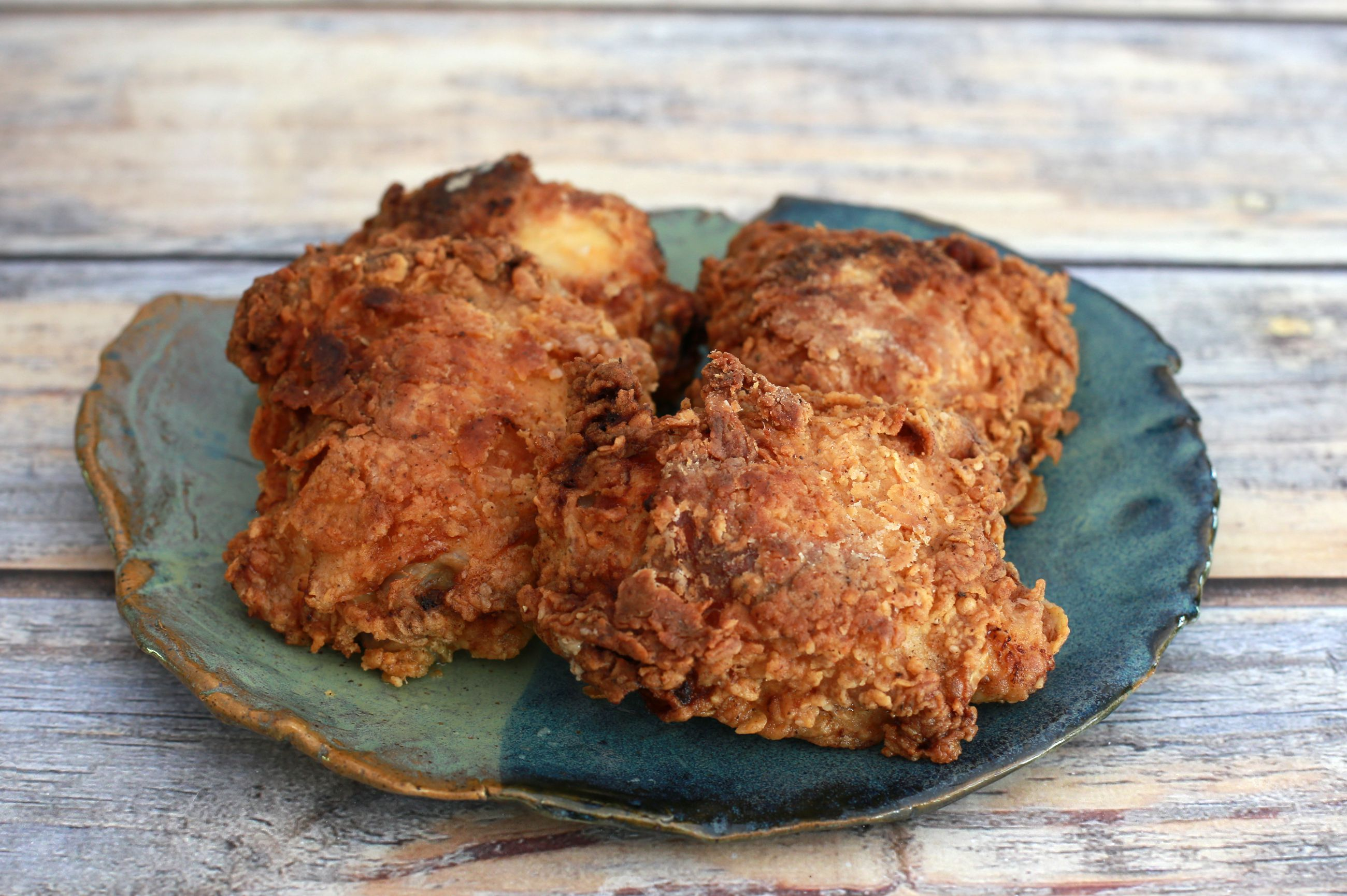 oven fried chicken thighs