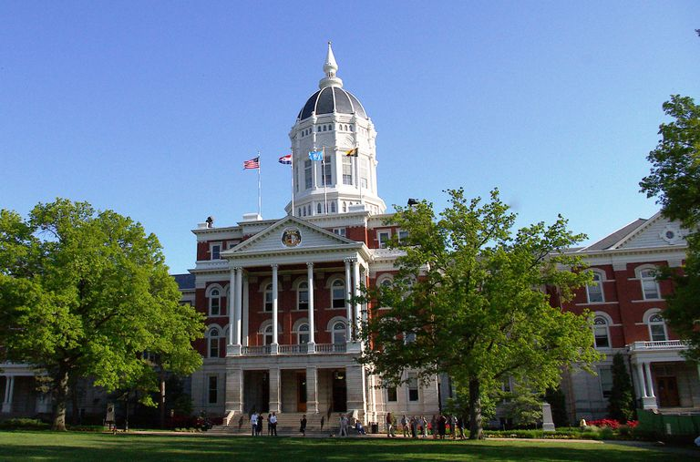 Jesse Hall at the University of Missouri