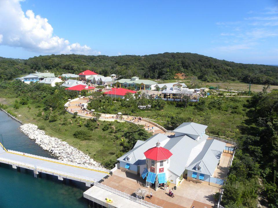 Mahogany Bay complex on the Island of Roatan, Honduras