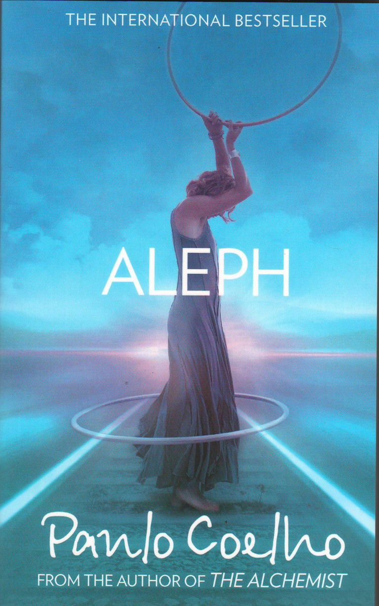 The cover of Aleph by Paulo Coelho