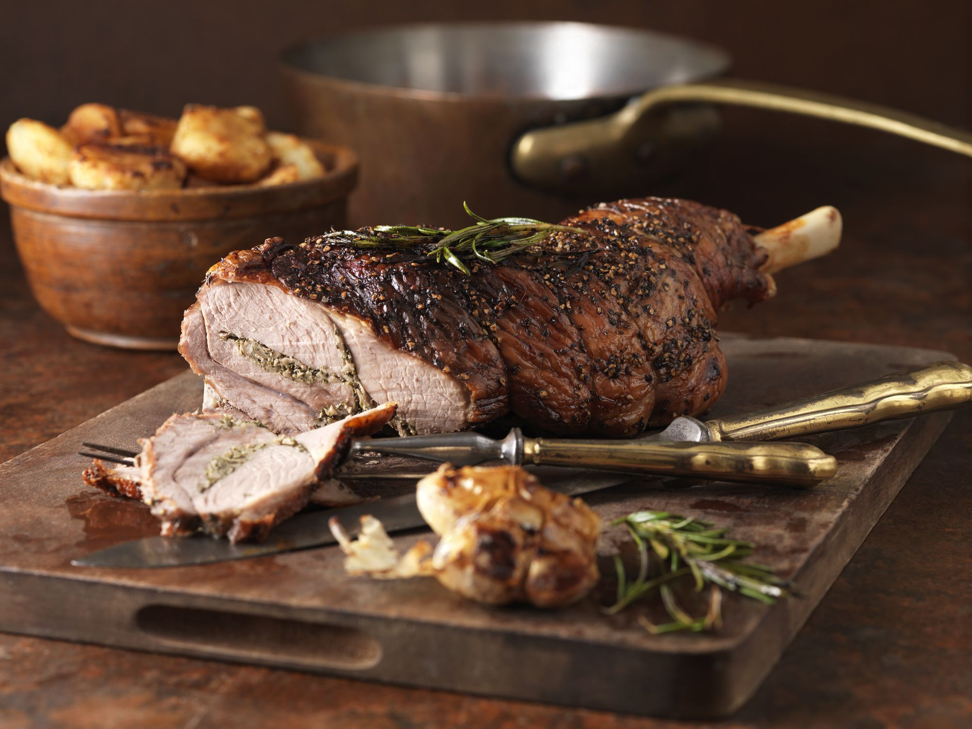 Classic Roast Leg Of Lamb Recipe