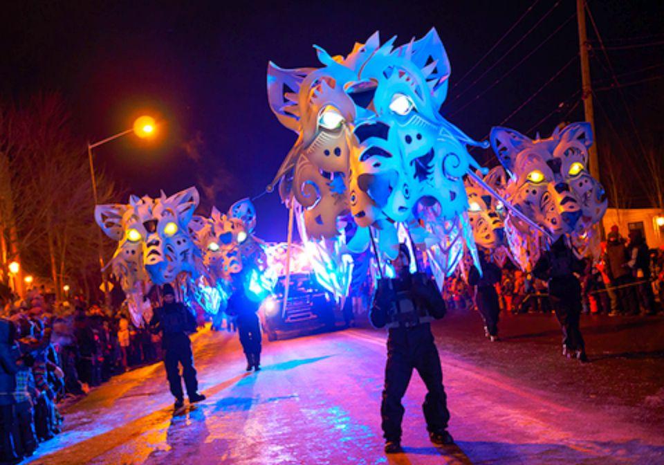 Carnaval de Quebec with Kids