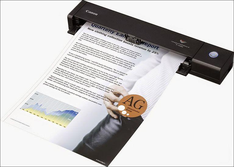 Canon imageFORMULA P-208 II Personal Document Scanner