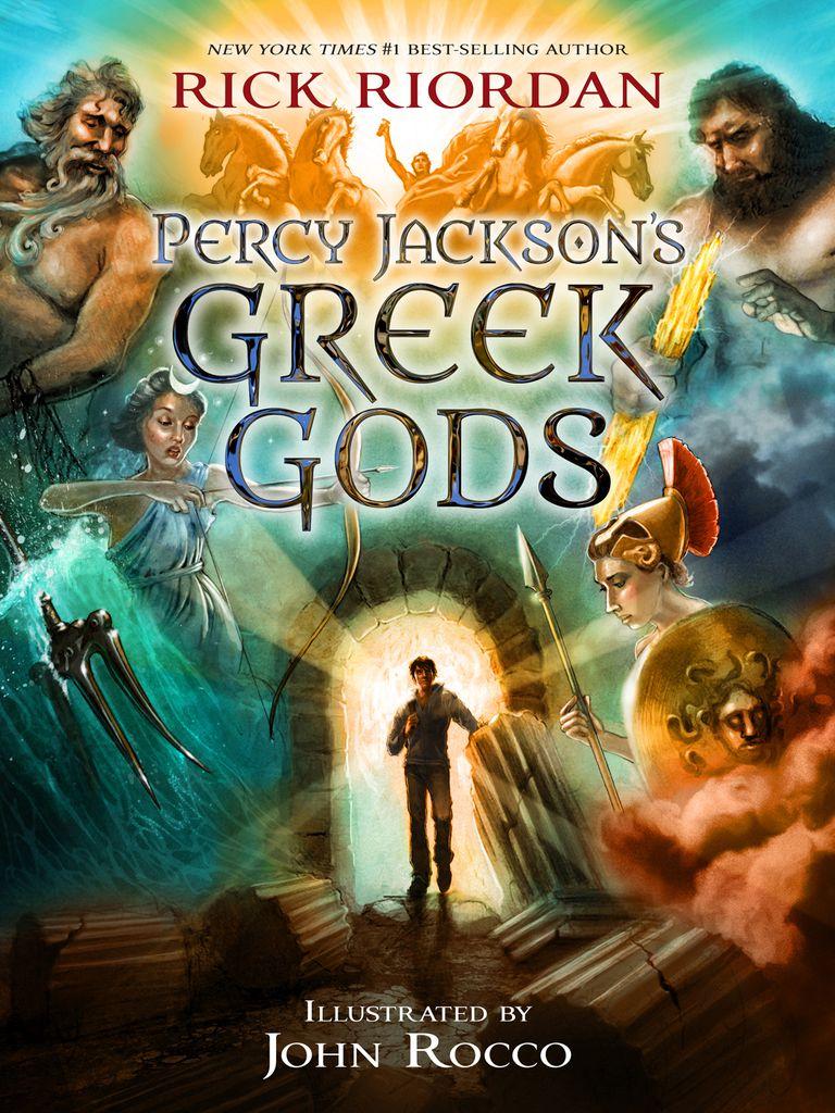 Percy Jackson's Greek Gods cover art