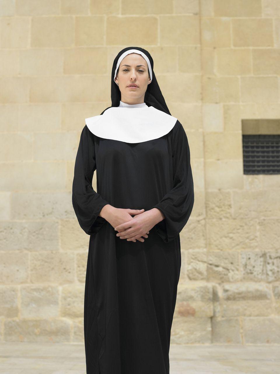 A nun in habit