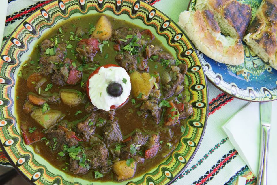 Traditional Bulgarian Stew