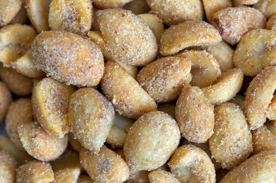 spicy seasoned peanuts