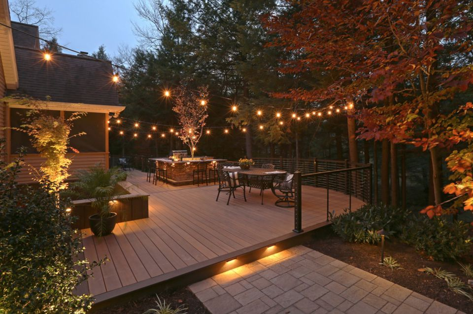 deck lighting. Deck Lighting I