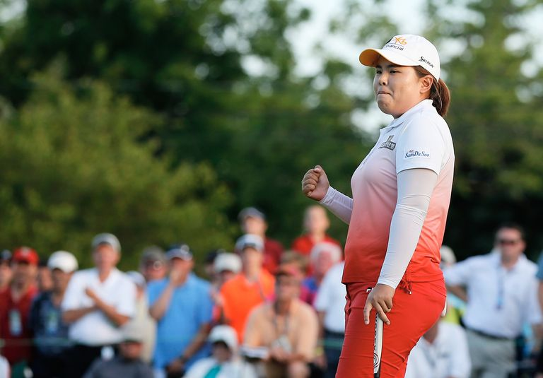 Inbee Park at the 2013 LPGA Championship