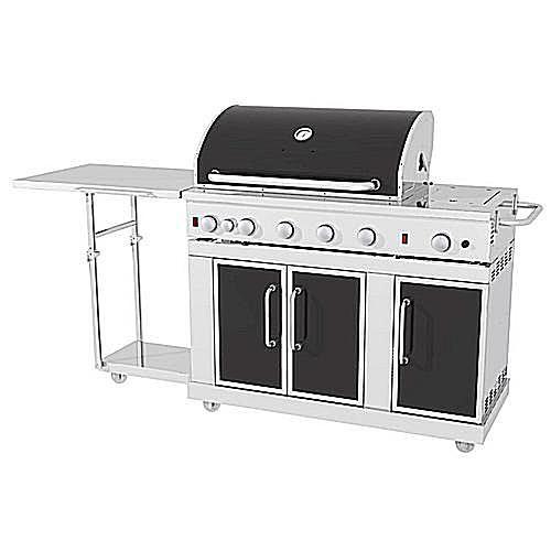 Master Forge 5-Burner Stainless Steel Model# 3218LTN
