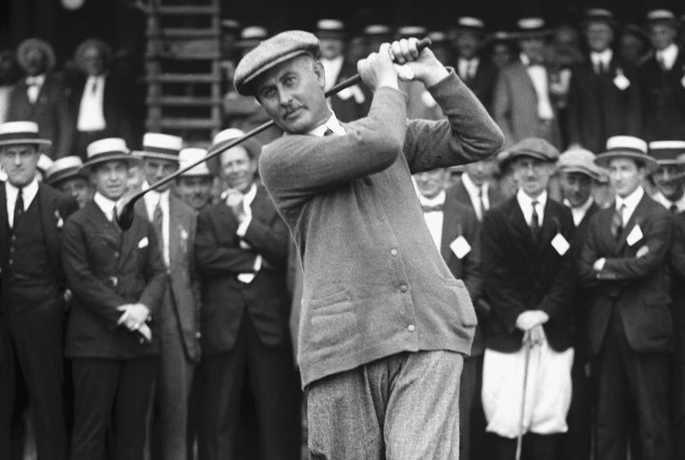 6-time British Open winner Harry Vardon pictured in 1920