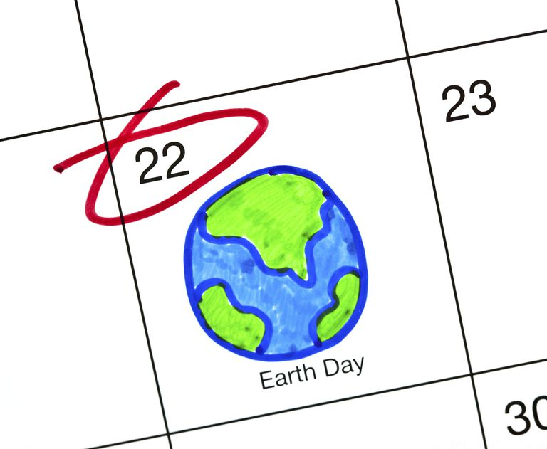 El Día de la Tierra se celebra internacionalmente el 22 de abril.