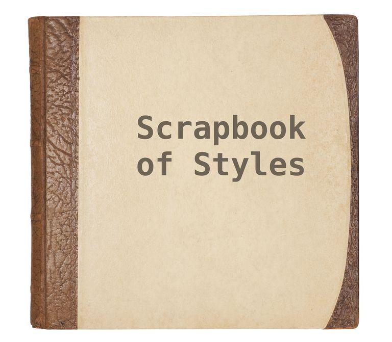 scrapbook of styles