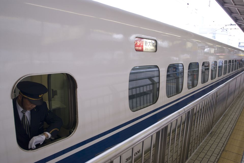 Trains can get you from place to place quickly and comfortably.