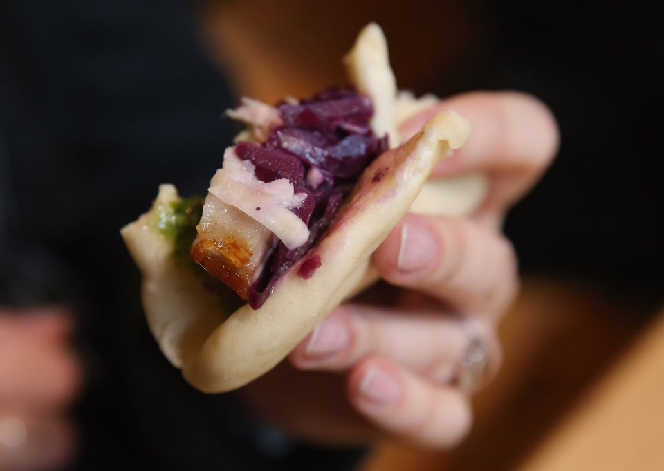 Pork and red cabbage