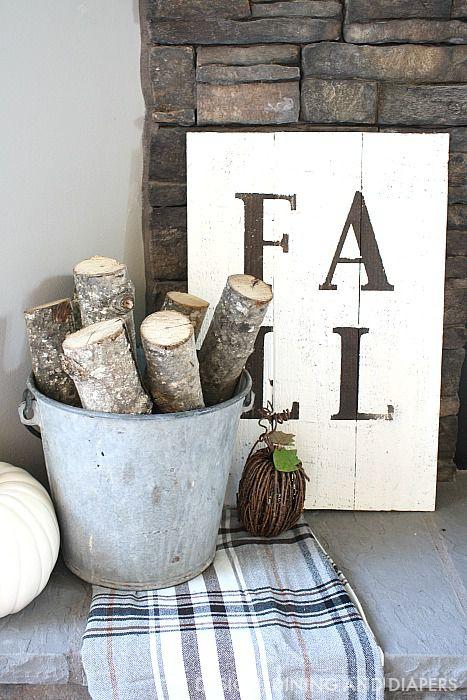 DIY Rustic Fall Sign