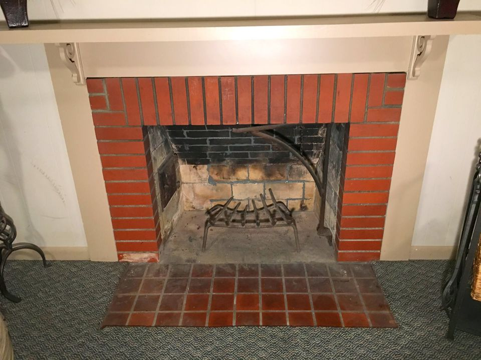 How To Fix Mortar Gaps In A Fireplace Fire Box