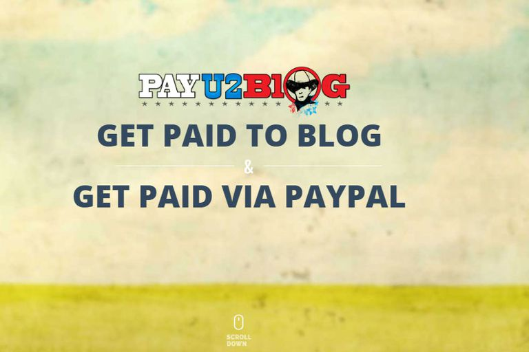 As a PayU2Blog publisher, you will be given paid posting assignments on a  weekly basis based on the blog profile you create.