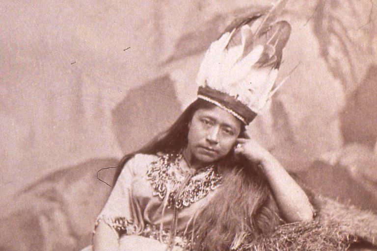Portrait of Sarah Winnemucca