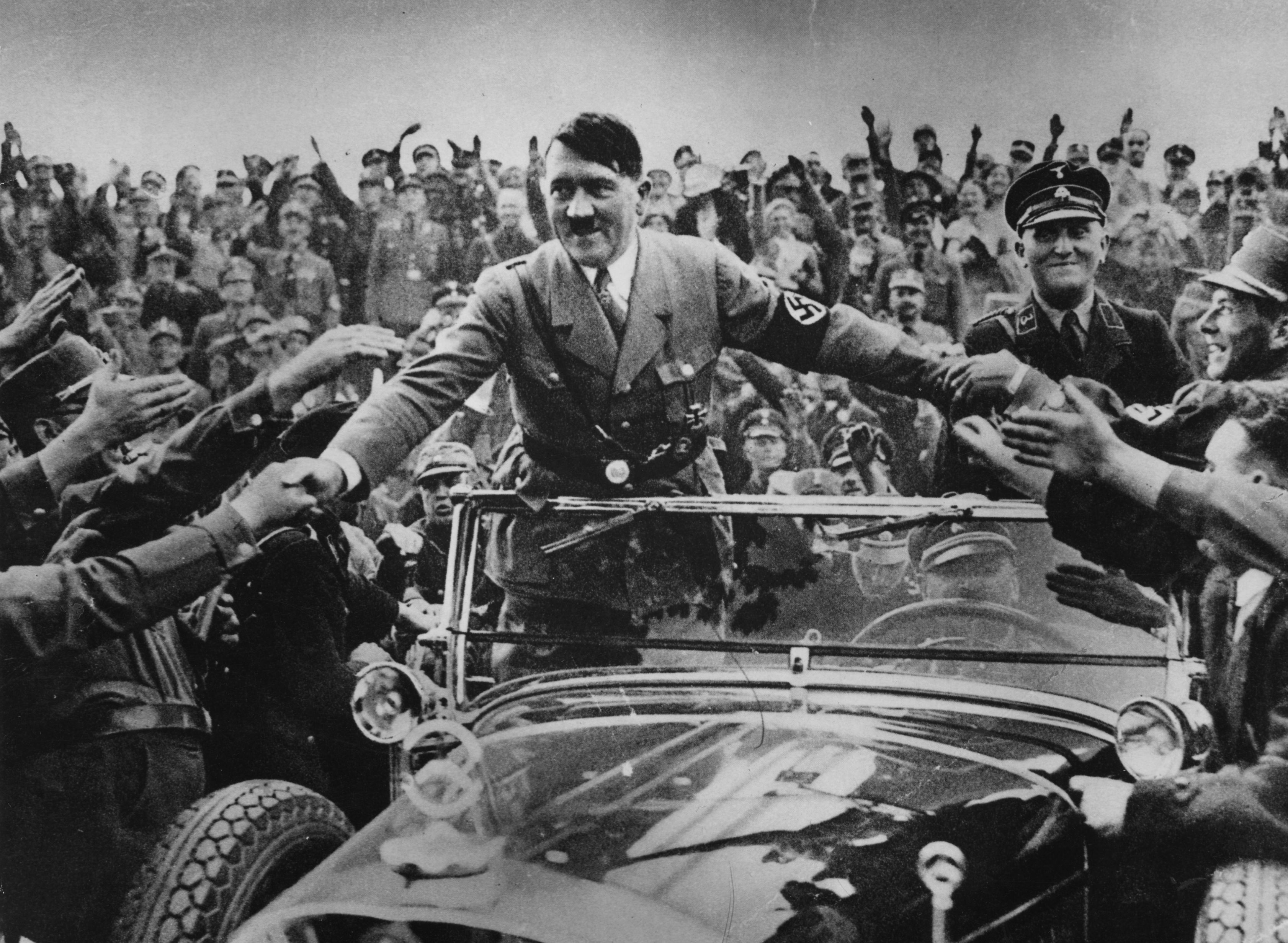 Image result for adolf hitler leading