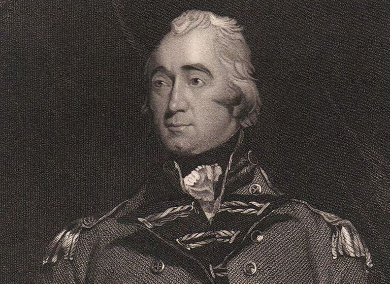 Lord Rawdon during the American Revolution