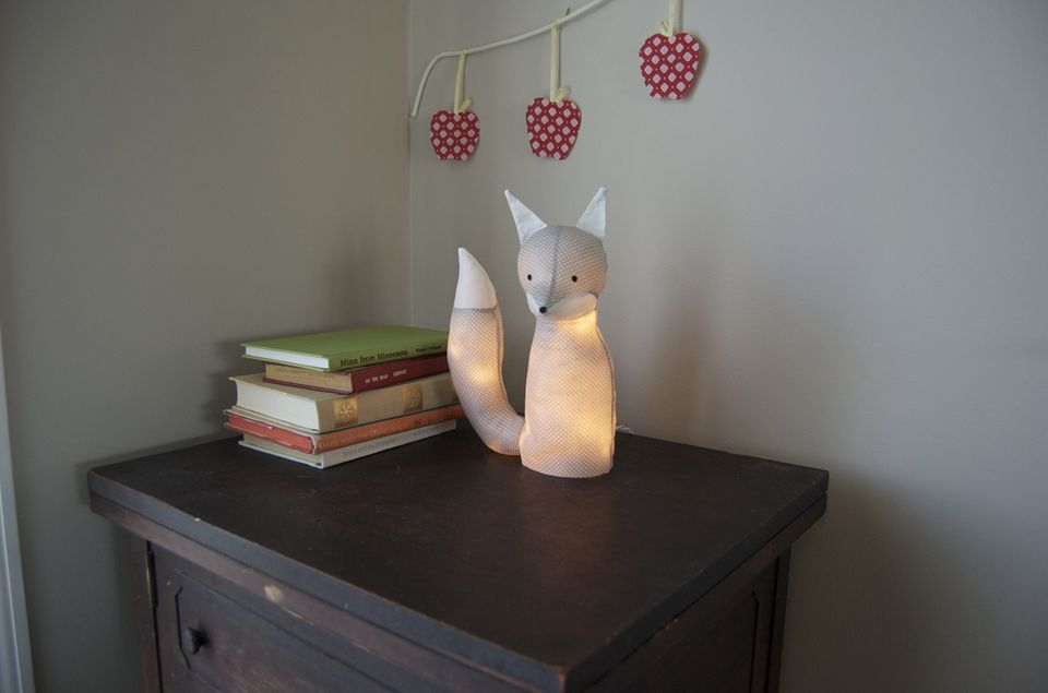 led stuffed animal nightlight