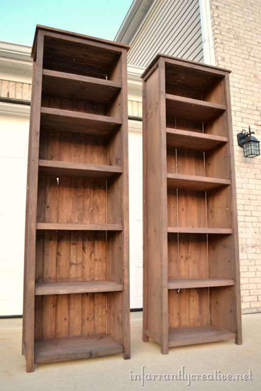 Bookshelves Images 15 free bookcase plans you can build right now