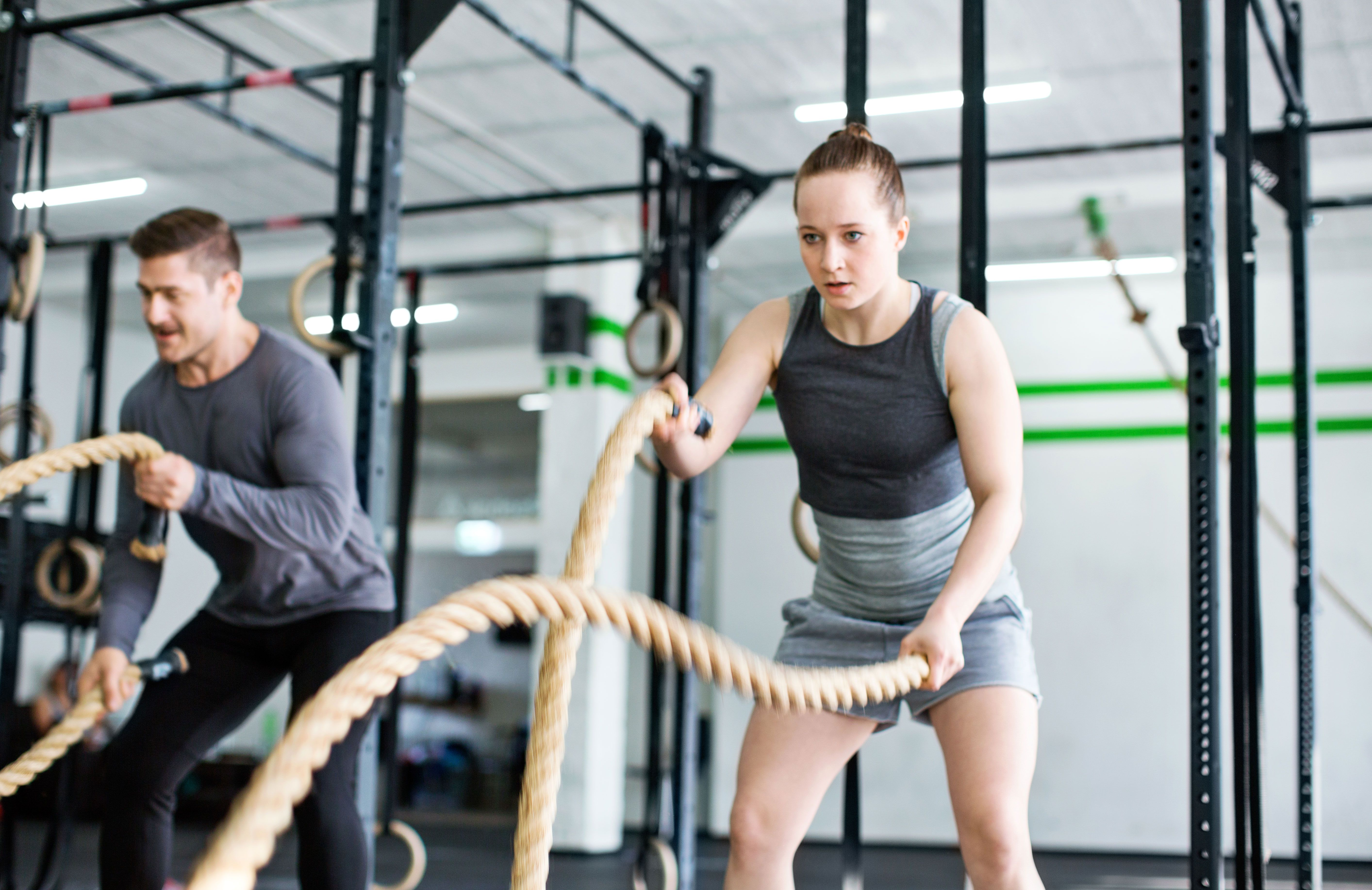 8 Battle Rope Exercises to Develop Power and Core Strength