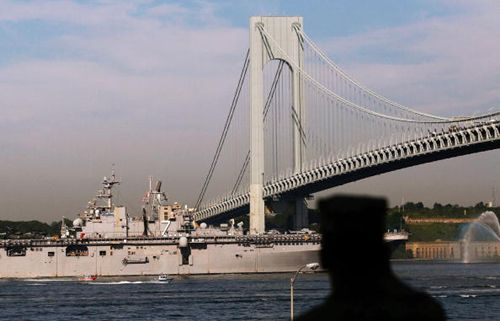 The Parade Of Ships Marks Start Of New York's Fleet Week